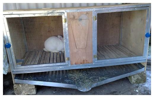 Клетки для кроликов своими руками фото